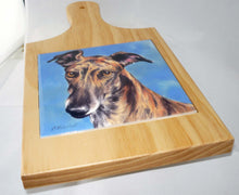 Load image into Gallery viewer, Greyhound Cutting Board