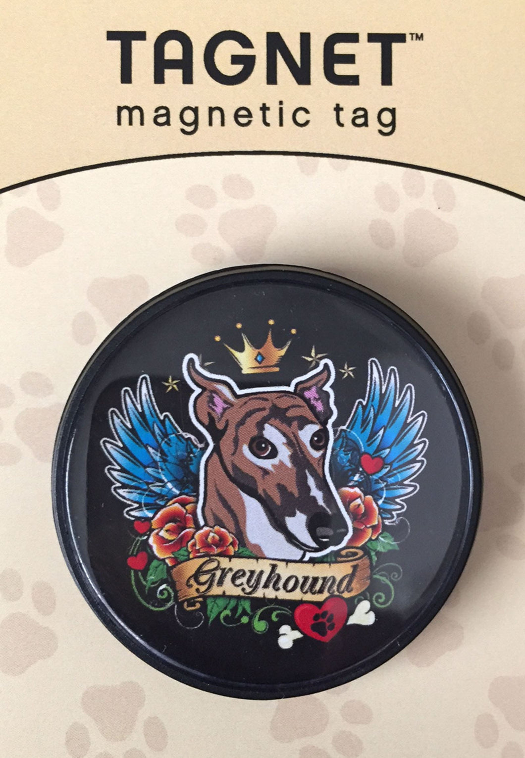 Greyhound Tagnet Magnet
