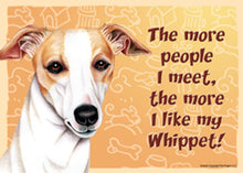 Load image into Gallery viewer, Funny Whippet Sign