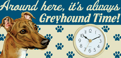 Greyhound Clock