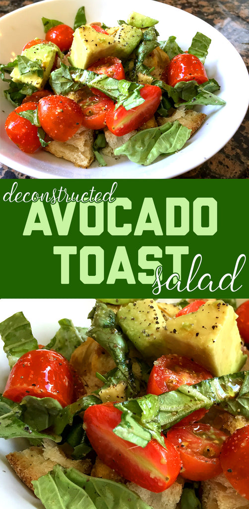 Boredwalk's Deconstructed Avocado Toast Salad