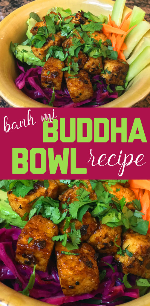 Boredwalk's Banh Mi-Inspired Buddha Bowl Recipe With Spicy Tofu