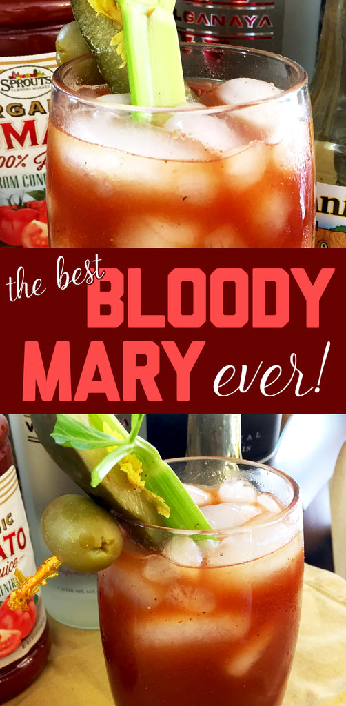 The Best Bloody Mary Recipe Ever!