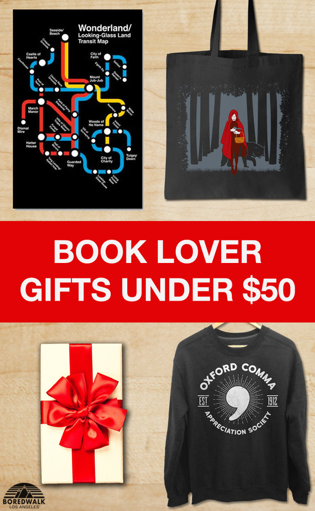 Affordable Book Lover Gifts Under $50