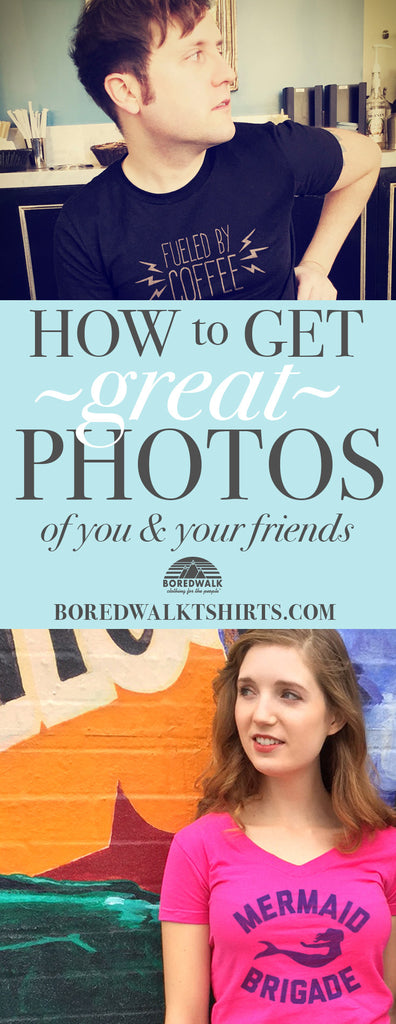 How to Get Good Pictures for Instagram, Facebook, OKCupid, Etc.
