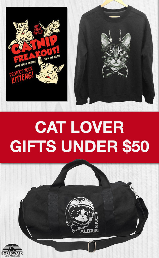 Affordable Cat Lover Gifts Under $50