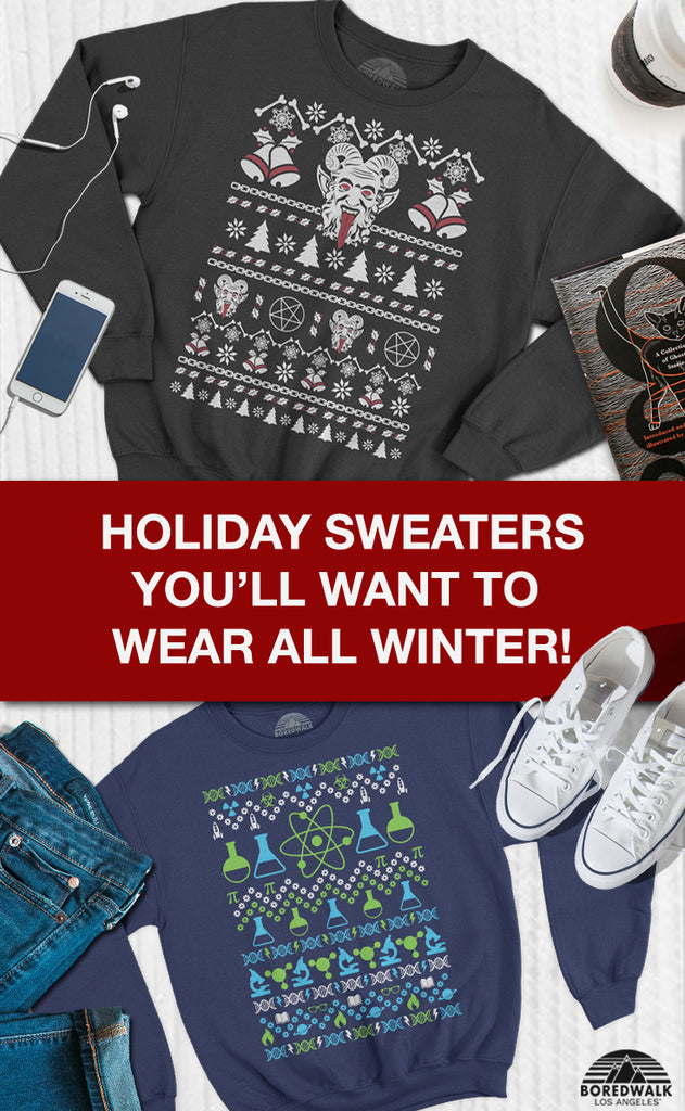 Ugly Holiday Sweaters That Are So Cute You'll Want to Wear Them All Year