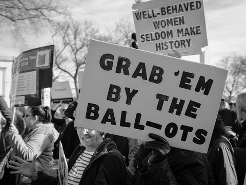 Grab 'em by the ball-ots Women's March 2018 - Washington, DC by ep_jhu