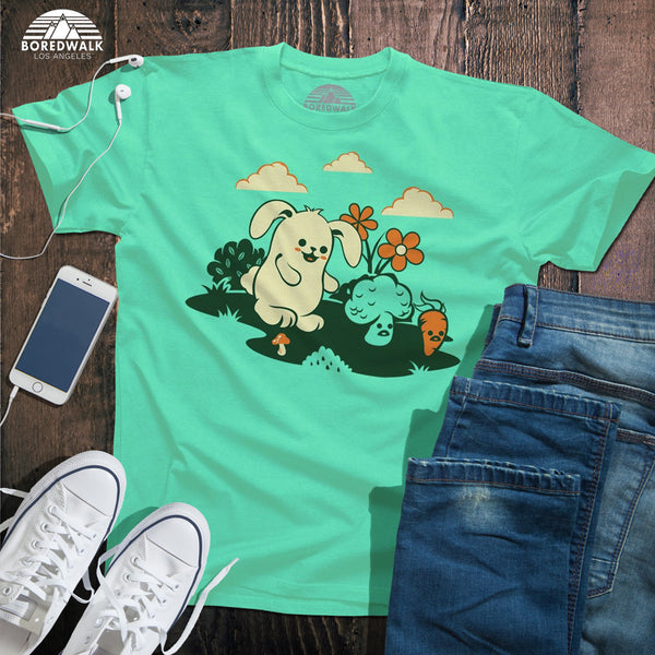 Beware The Vegetarian Bunny Shirt