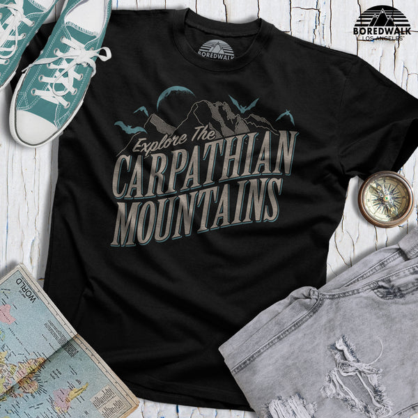 Boredwalk Explore The Carpathian Mountains Shirt