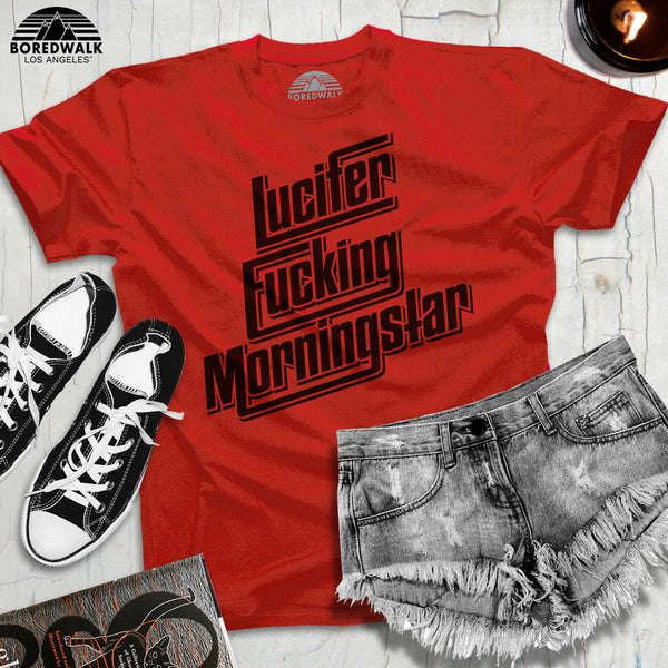 Boredwalk Lucifer Fucking Morningstar Shirt