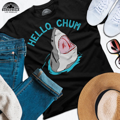 Boredwalk Hello Chum Shark Shirt