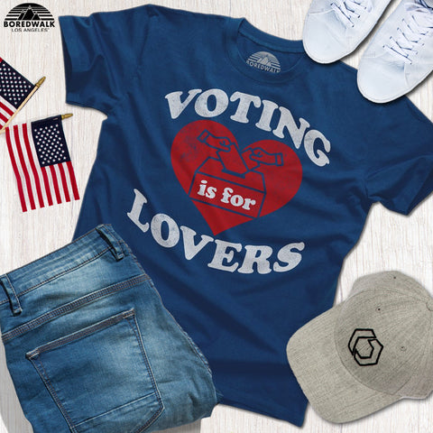 voting is for lovers shirt