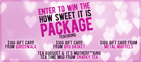 How Sweet It Is Valentine's Day Giveaway