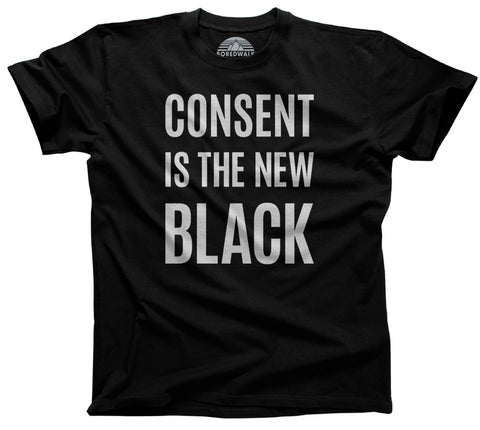Consent is the New Black Shirt