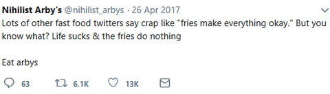 Life sucks and fries do nothing