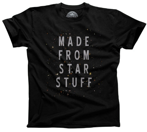 Made with Star Stuff Astronomy Shirt
