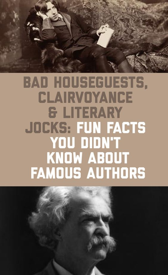 Funny Author Facts
