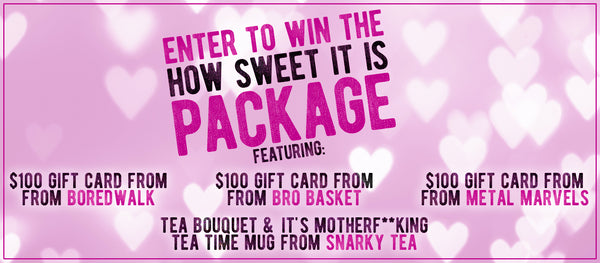 How Sweet It Is Valentine's Day Giveaway Contest