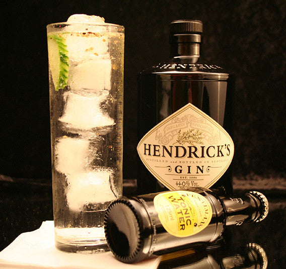 Classic Gin And Tonic Cocktail