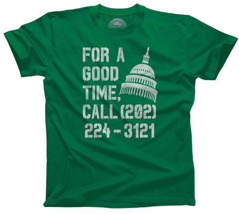 For a Good Time Call Congress
