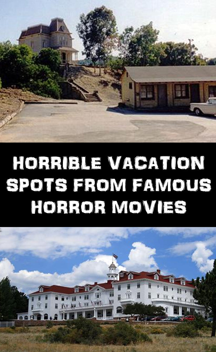 Horrible vacation spots from horror movies