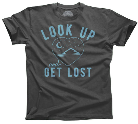 Look Up and Get Lost Astronomy Shirt