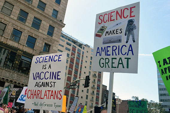 March For Science Posters - Vaccine Against Charlatans