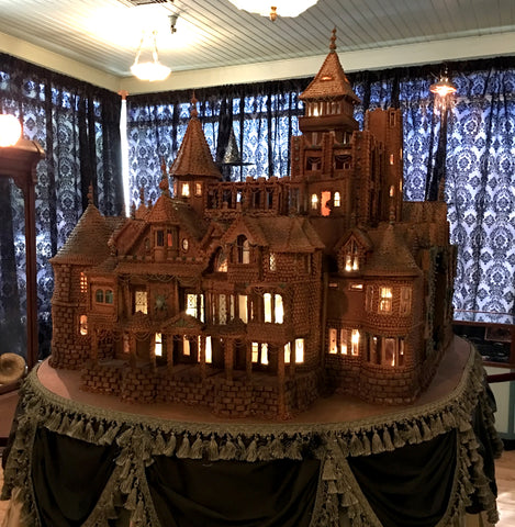 Christine McConnell Winchester Gingerbread House