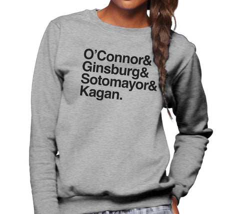 O'Connor Ginsburg Kagan Sotomayor Feminist Shirt