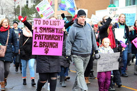 Womens March 2018 Ottowa - To Do List Smash Patriarchy Brunch - Photo By  Mike Gifford