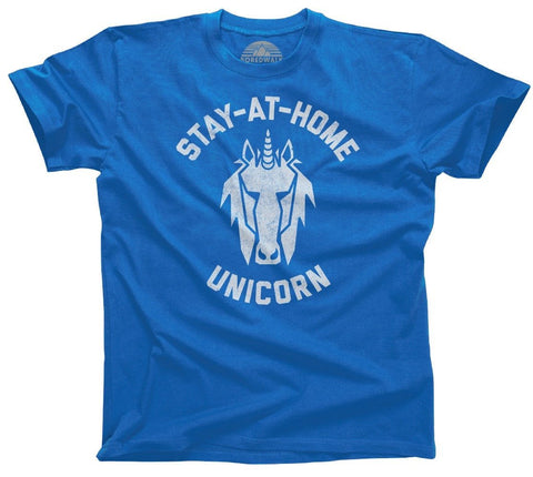 Stay at Home Unicorn Shirt