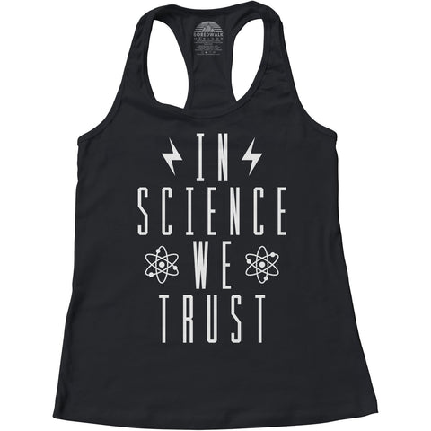 In Science We Trust Scientist Tank Top