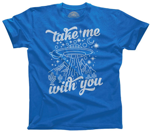 Take Me With You to Space UFO Shirt