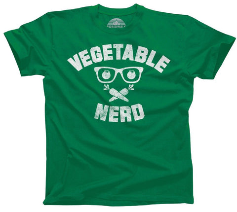 Vegetable Nerd Shirt
