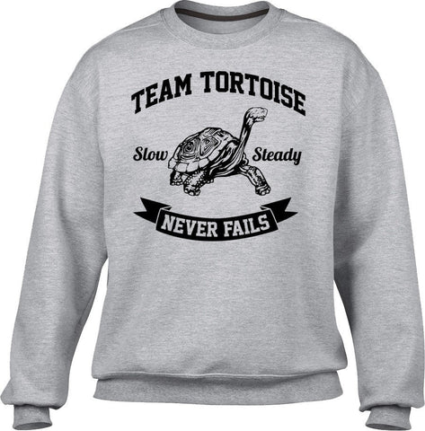 Unisex Slow And Steady Tortoise Sweatshirt