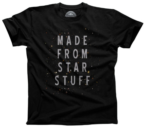 Men's Made From Star Stuff T-Shirt Astronomy T-Shirt