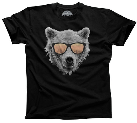 Men's Los Angeles Bear T-Shirt Bear In Sunglasses