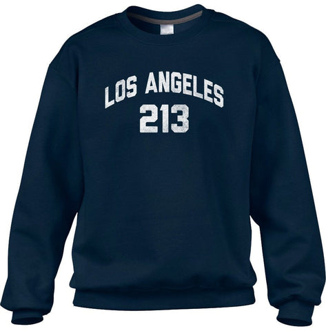 Unisex Los Angeles 213 Area Code Sweatshirt
