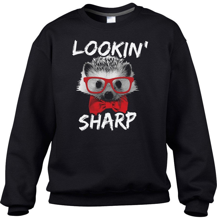 Unisex Looking Sharp Hedgehog Sweatshirt