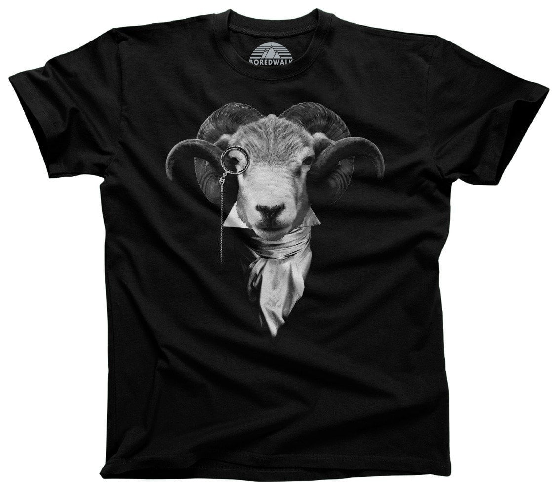 Men's Steampunk Goat T-Shirt