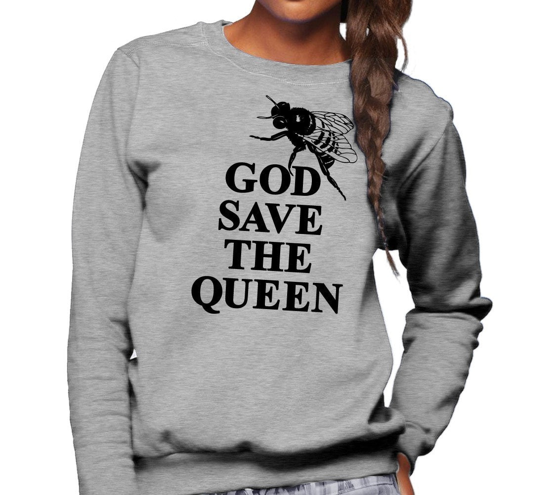Unisex God Save The Queen Bee Sweatshirt