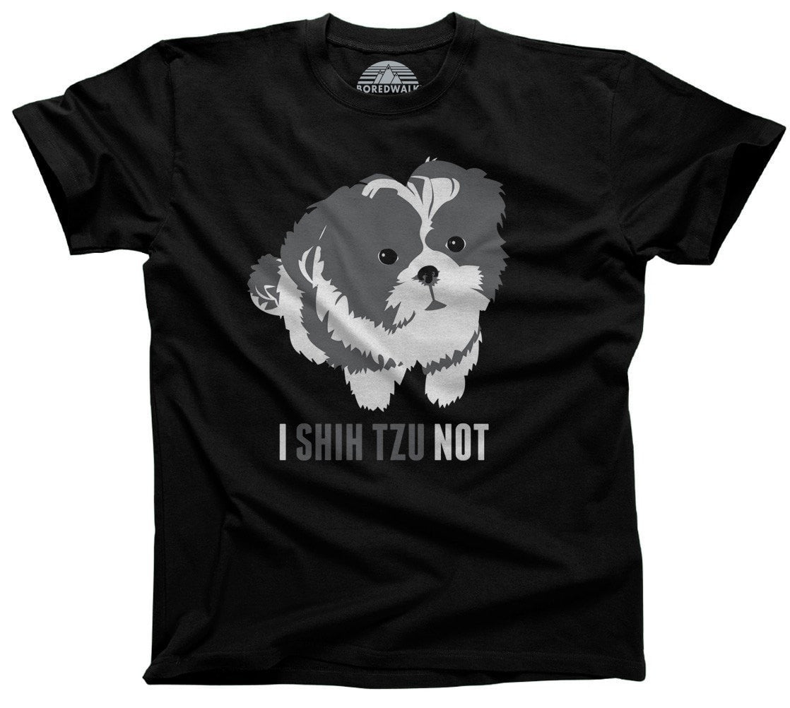 Men's I Shih Tzu Not Dog T-Shirt