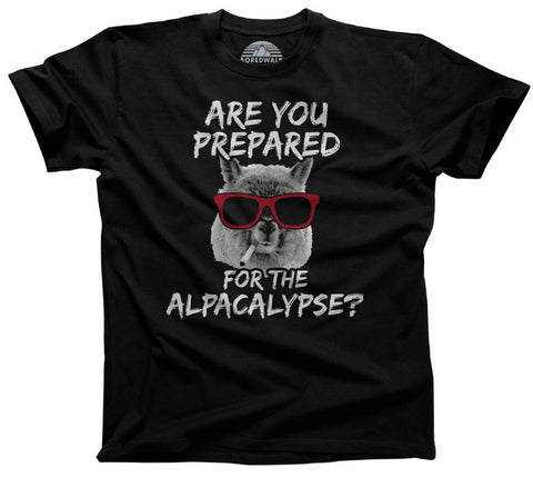 Men's Are You Prepared for the Alpacalypse  T-Shirt