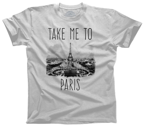 Men's Take me to Paris T-Shirt France Travel