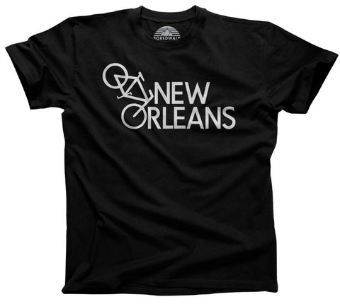 Men's New Orleans Bike T-Shirt