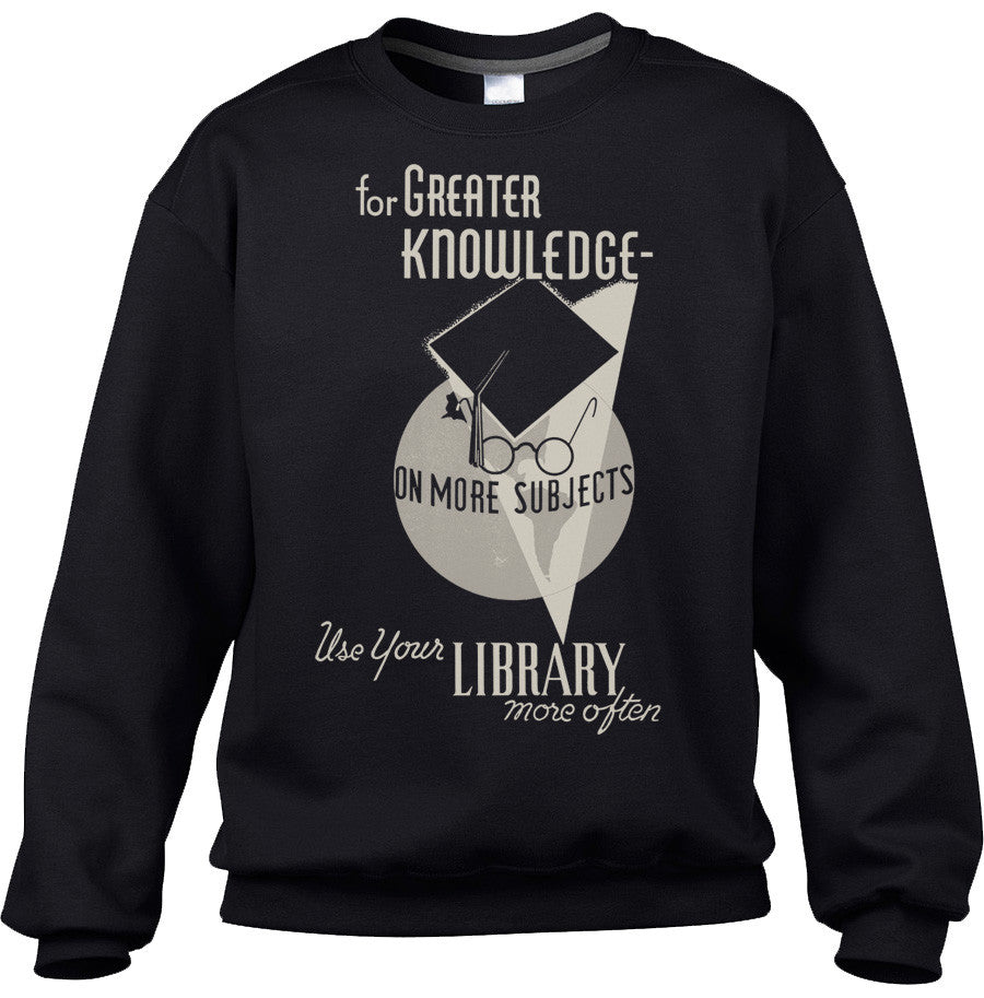 Unisex Visit Your Library Vintage Sweatshirt
