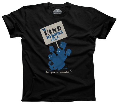 Men's Be Kind To Books T-Shirt