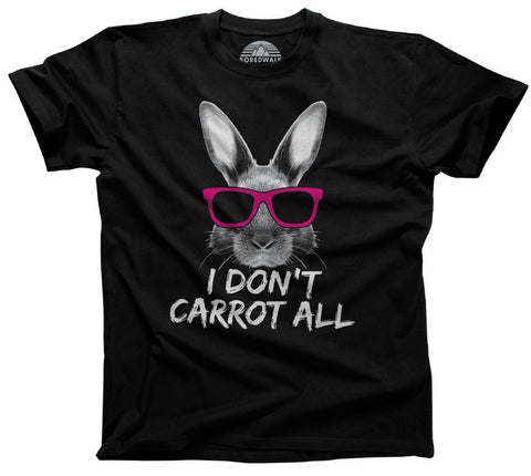 Men's I Don't Carrot All Bunny Rabbit T-Shirt