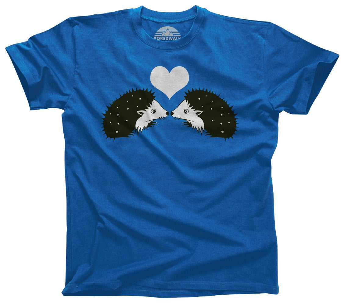 Men's Hedgehogs In Love T-Shirt